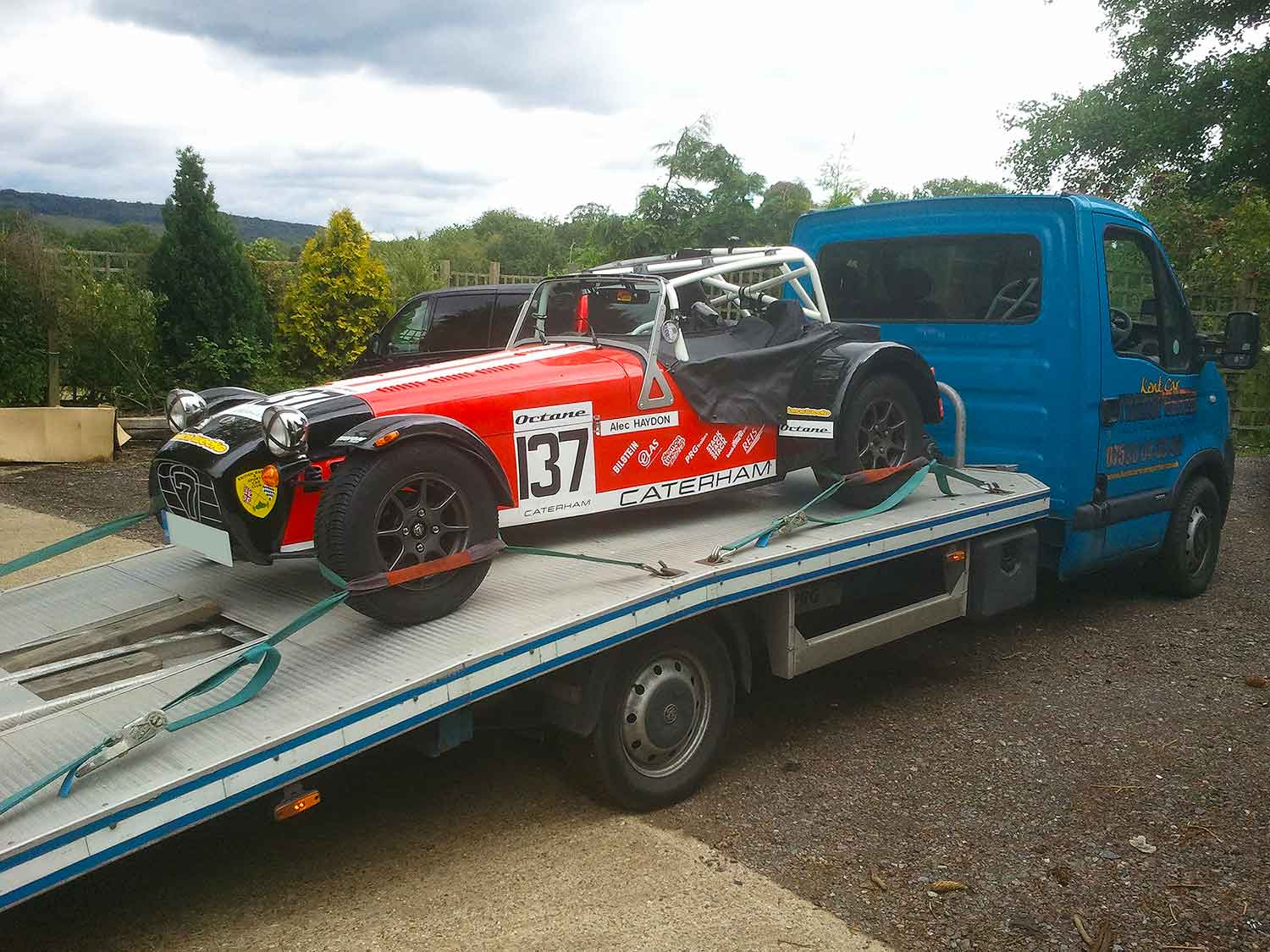 Kent Car Transporter | Sports & track car transport