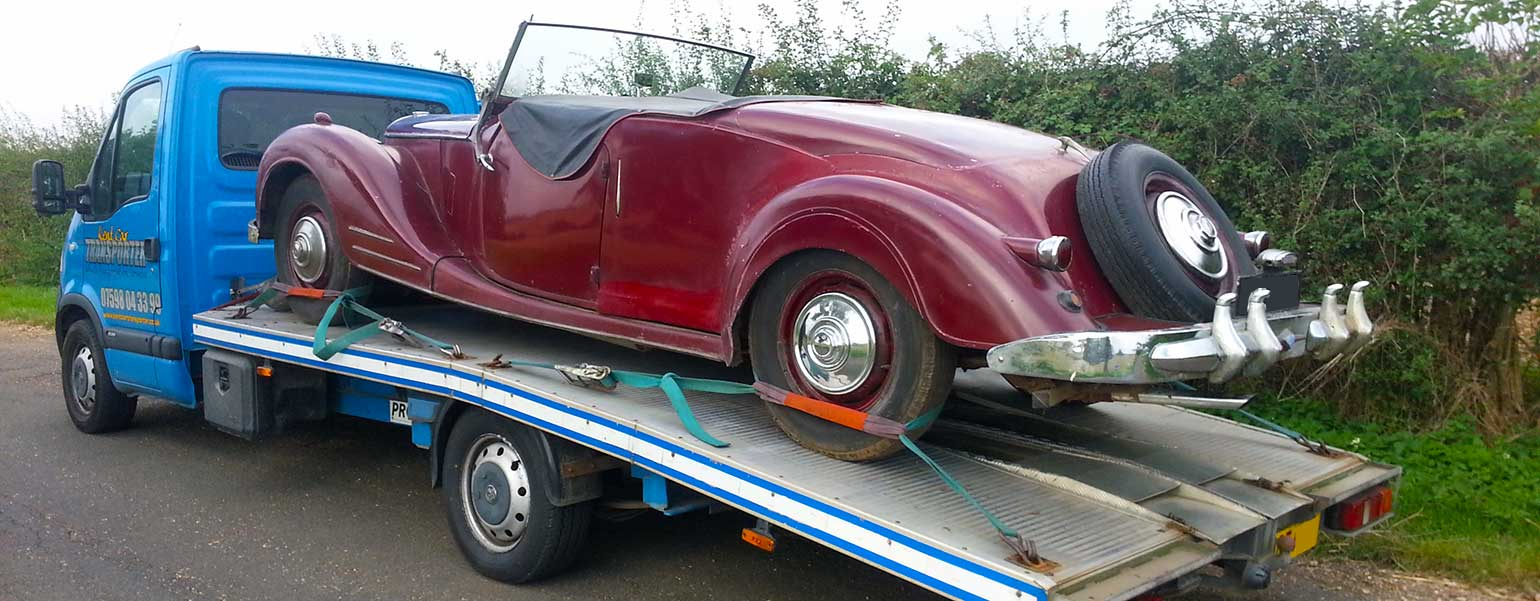 Kent Car Transporter | Classic car transport
